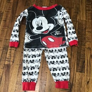 24M Mickey Pajama set